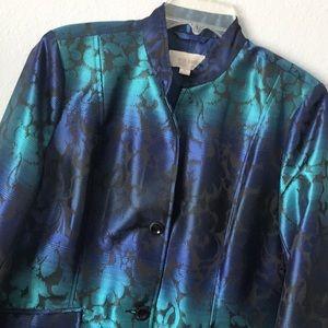 Like new Erin London bright large jacket blazer